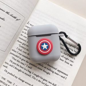 Accessories - Cartoon protective AirPods Cases- Captain America